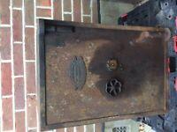 Antique vintage iron safe John B Field Birmingham