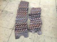 Original Victorian Rope Top Edging Tiles