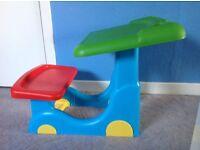 Childrens activity desk