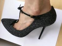 Gucci T Strap. High Stiletto Heels. Eu 39/ UK 6. Slightly used.