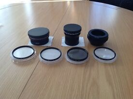 Camera Lenses 58mm and 74mm
