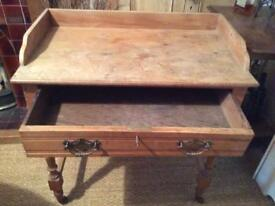 Pine dressing table/ desk