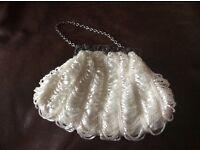 Beautiful beaded handbag never used