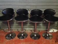 4 kitchen gas bar stools