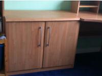 Office style storage cupboard