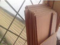 Beech laminate flooring good condition.