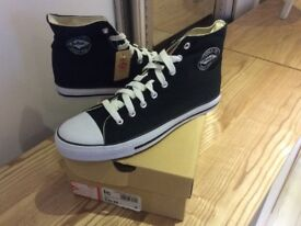 Brand New Men's Lee Cooper Hi Top Boots/ Trainers (Converse Style) -Size 8