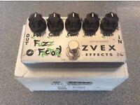 ZVex Vexter Fuzz Factory pedal