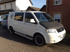 VW T5 T28 1.9tdi 2007. 12 months MOT, no advisories with service history.