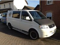 VW T5 day van, 1.9tdi 2007. 12 months MOT, no advisories with service history.