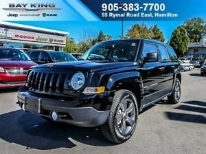 2017 Jeep Patriot SPORT ALTITUDE PKG, 4X4, BLUETOOTH, AUTOMATIC,