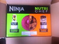 Nutri Ninja NN100UK Nutri Chef Auto IQ Blender & Chopper