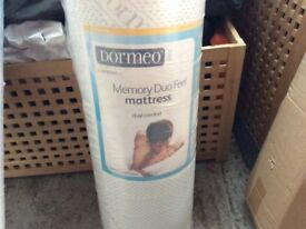 The Dormeo Memory Duo Feel single mattress size