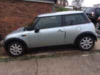 BMW mini one for spares or repair