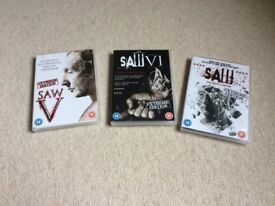 SAW DVD bundle