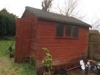 Garden shed. 8 X 6.