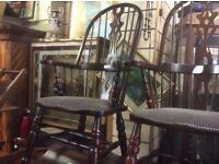 Mahogany Windsor chair