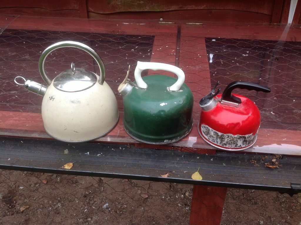 Whistling Kettles X 3 In Shirley West Midlands Gumtree
