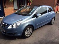 Vauxhall Corsa Club 3 door hatchback tilt and slide sunroof