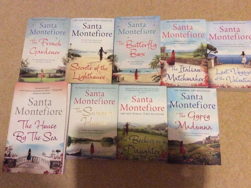 Santa Montefiore books