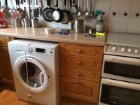 Solid oak door complete kitchen