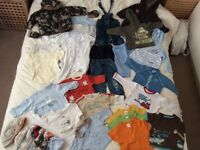 6-9mth bundle of baby boy clothes in excellent condition and great quality
