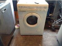 Whirlpool washing machine,£30,00
