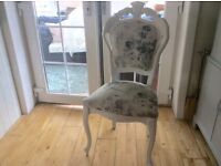 French Louis style chair fully refurbished