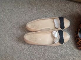 Chanel flat shoes size uk 5 , eur38