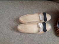 Chanel flat shoes size uk 5 , eur38