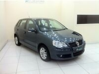 Volkswagen Polo 1.4 S 5dr-Auto-12 Month MOT+Warranty-Full History-£0 DEPOSIT LOW RATE FINANCE