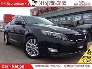2015 Kia Optima EX W/SUNROOF | ONE OWNER | FULLY SERVICED |