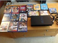 PlayStation 2 and 15 games including Buzz and Singstar