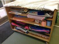Paper storage trolley (ex-classroom)