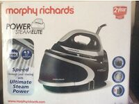 Morphs Richards Steam Elite Iron. Boxed. Unused.