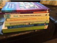 Bundle of Childcare and Education books