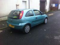 Vauxhall corsa 1.3 CDTI life spec 3 door hatchback 2004 year