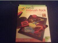 NEW Crayola DigiTools Airbrush Pack for iPad