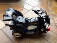 Batman Sit on and Ride Bike - 6v with charger - suit from age 3