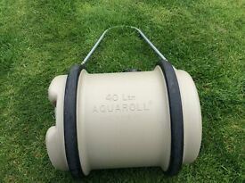 Aquaroll 40 Litre Water Container c/w Carrying Handle
