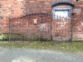 Wrought iron drive gates from Cannock Gates