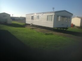 35X12 caravan for sale,including plot,on West sands Selsey.