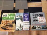 Weapons of World War 11+ Land Warfare + The German Navy WW11