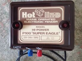 HOTLINE P100 Super Eagle Mains ELECTRIC Fencer