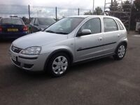 Vauxhall CORSA SXI 1.2 55 plate only 58000 miles PSH MOT ONE YEAR ideal first car silver 5 door