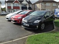 Pco registered toyota Prius for rent at ONLY £125 a week