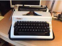Erika manual portable typewriter