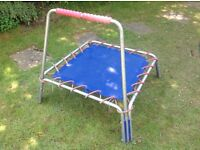 Lovely indoor/outdoor infant trampoline from John Lewis in excellent condition