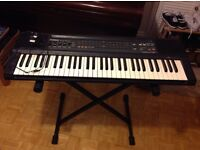Casio 465 Sound Tone Bank with stand