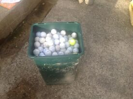 Various used gold balls all in very good condition (approx 540+ balls)